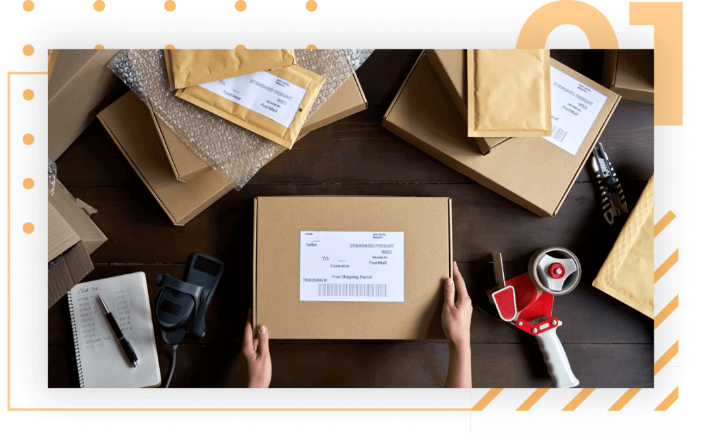 kitting and repackaging services