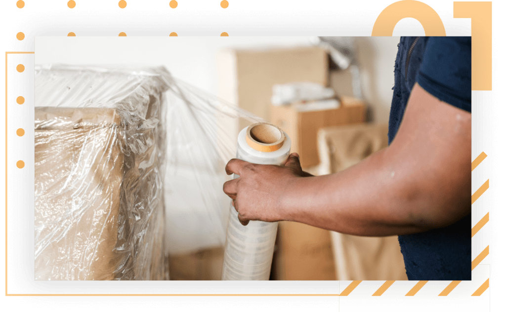 Domestic shipping - pick, pack, and ship