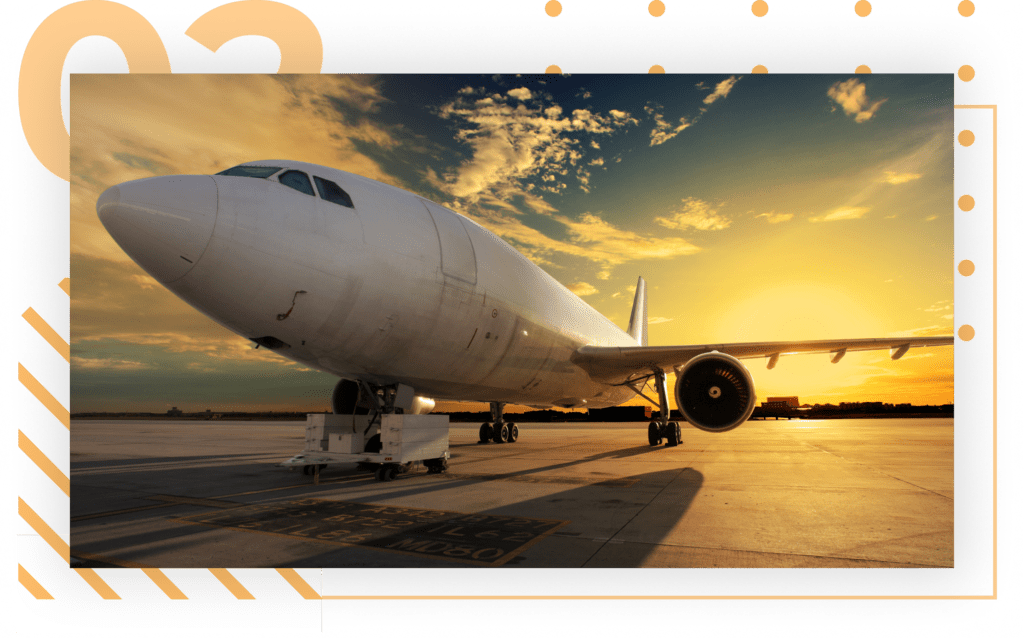 freight services by air