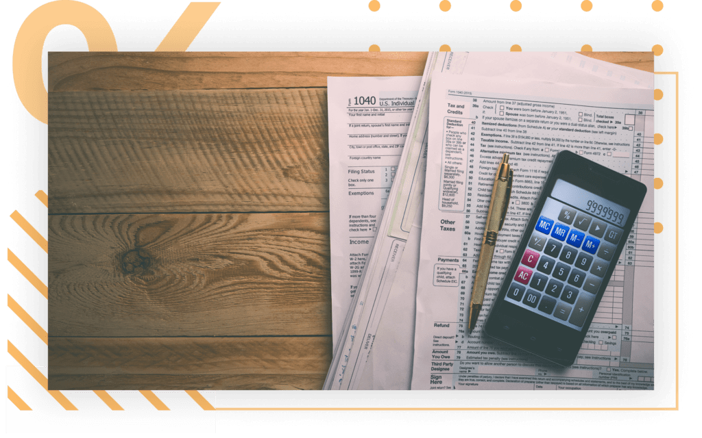 import and customs services tax calculation