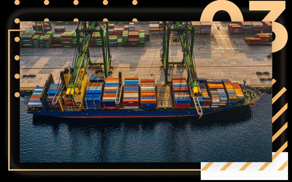 international shipping by sea